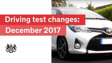 Changes to the Driving Test